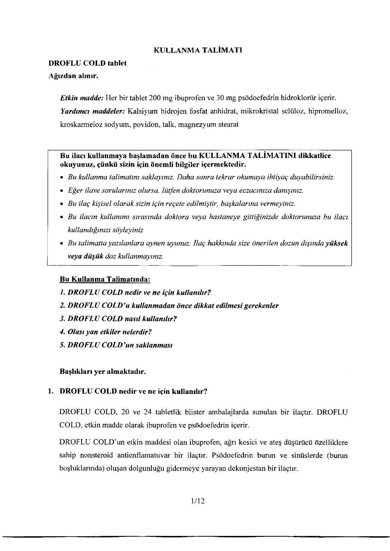 07012014 Cdn Droflu Cold Tablet