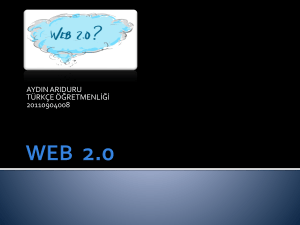 WEB 2.0 - WordPress.com