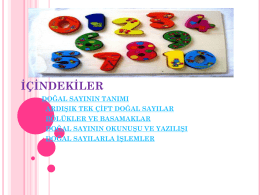 do*al sayılar - WordPress.com