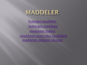 Maddeler - WordPress.com