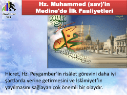 Hz. Muhammed - video.eba.gov.tr