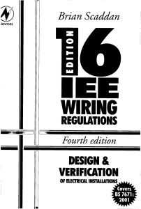 BS 7671 2001 IEE Wiring Regs Explained