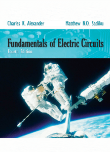 Fundamentals of Electric Circuits (Alexander and Sadiku), 4th Edition