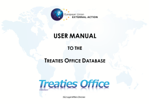 TREATIES UMD INTERNET