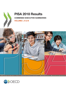 RESULT Summaries PISA 2018