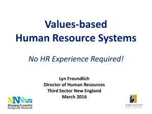 Values-based-HR