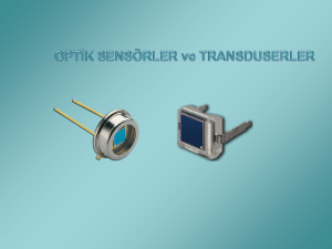 5-Optik Sensor ve Transduserler
